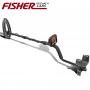 Sparset Fisher F22 Metalldetektor +Quest XPointer, Grabungsmesser, Fundtasche