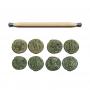 Polierbürste Restauration (Münzen, Relikte, Abzeichen uvm)