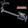 Raptor Edelstahl Spaten Black T-Griff 860mm